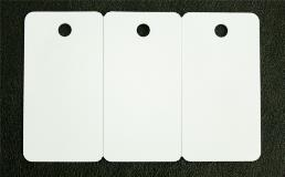 3-up card tags